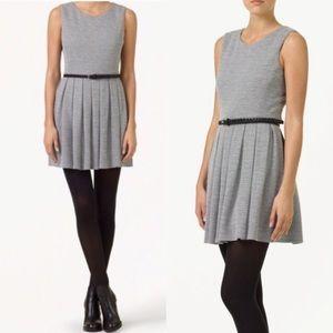 Aritzia Talula Waldorf Pleated Mini A-Line Dress